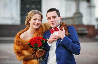 свадебный фотограф Москва , свадебная фотосъемка Храм Христа Спасителя